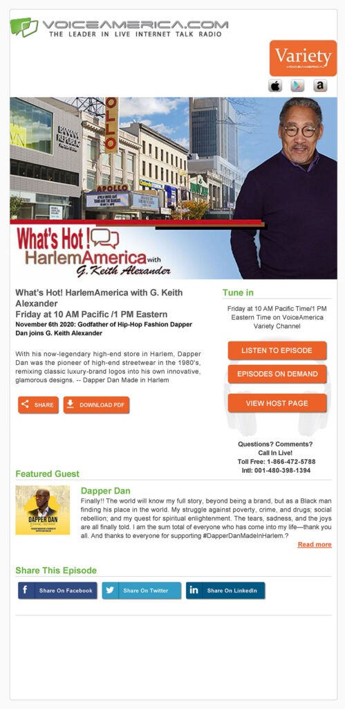 HarlemAmerica Nov_2020_Ecard_godfather-of-hip-hop-fashion-dapper-dan-joins-g-keith-alexander